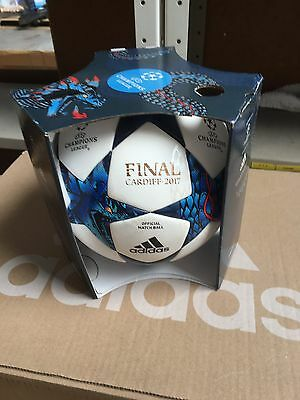 Adidas Champions League Official Match Ball Finale Cardiff 2017 Football Size 5