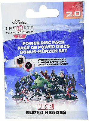 Disney Infinity 2.0 Power Discs Pack Marvel (PS4/XBOX/PS3) BRAND NEW SEALED