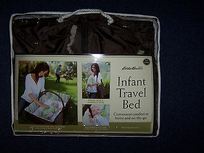 Eddie Bauer Infant Travel Bed (Portable Crib, Play & Diaper Change) 3 in 1 *NEW*
