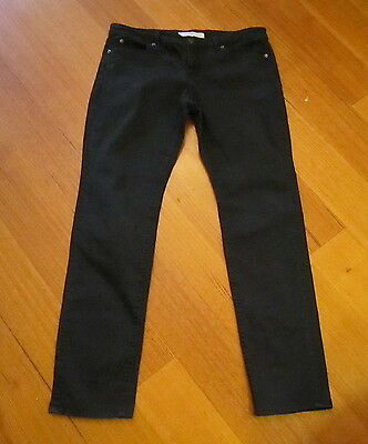 Gorgeous COUNTRY ROAD Black Stretch Jeans-Size 16 LOOK