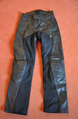 Ladies Richa Freedom Leather & Textile Motorcycle Trousers Size 12