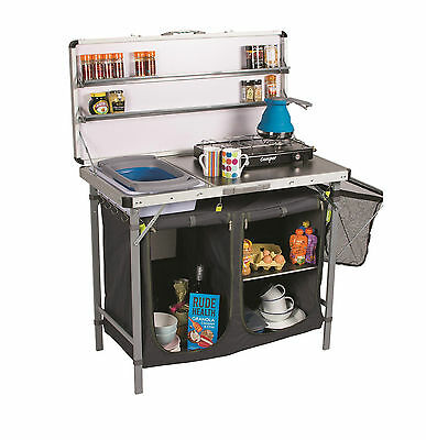 Camping Kampa Chieftain Field Tent Camp Kitchen Stand