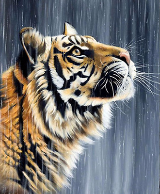 Tiger 5D Diamond Painting Kit DIY Diamond Painting Cross Stitch