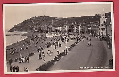 Vintage Post Card of Aberystwyth - Real Photographic c 1950's.