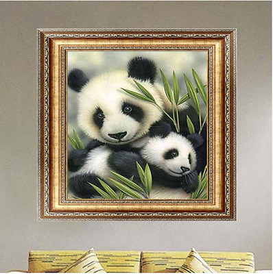 Panda 5D Diamond Painting Kit DIY Diamond Painting Cross Stitch
