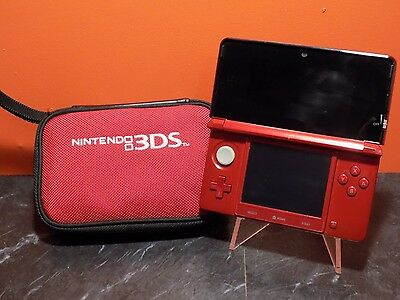 Red Nintendo 3DS Console PAL B075