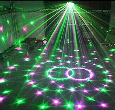 Wonsung Disco Club Bar Magic Ball 6-Colors 18W LED Crystal Laser Lighting