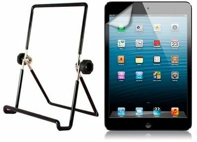 NEW Polaroid Screen Protector & Adjustable Stand for Apple iPad Air Bundle