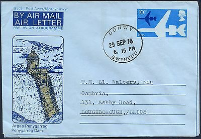 Great Britain 10p. Air Letter / Aerogramme, Welsh Theme, FDC? used, unopened