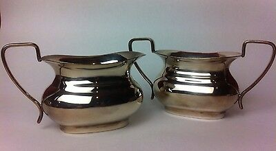 Vintage Viners Bowl And Jug Alpha Silver Plate Country House Timeless Dining (B)