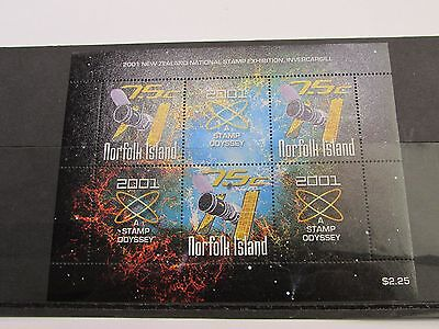 2001 Norfolk Island A Stamp Odyssey MINI SHEET MNH