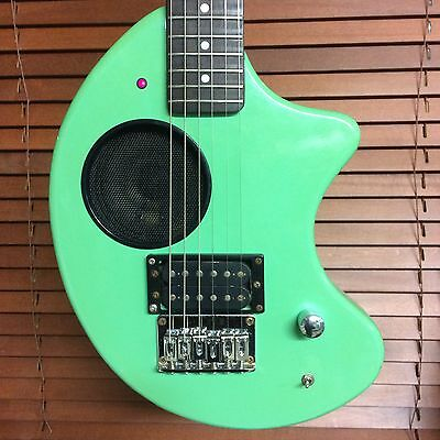 🎸 Vintage FERNANDES NOMAD Travel Guitar Japan Green