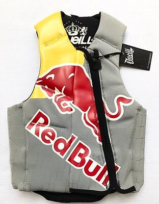 RedBull Athletes Exclusive O'Neill Revenge Comp Lifevest Adult Small NWT!