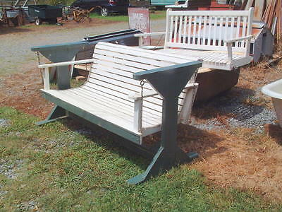 Antique, Vintage Original Large Porch Swing, Shabby Look, from Appalachias