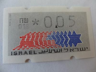 israel machine vended stamps