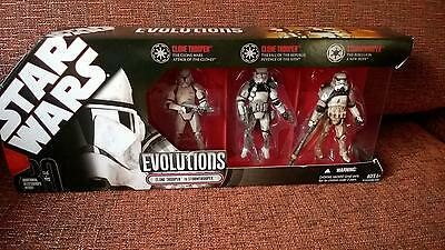 Star Wars Evolutions 30th anniversary clone trooper to stormtrooper