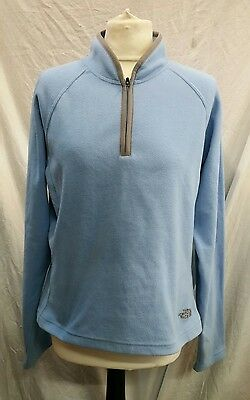 Womens The North Face Fleece Base Layer Top Size Large