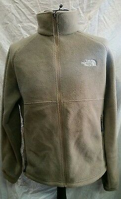 Mens The North Face Thick Fleece Jacket Size Medium