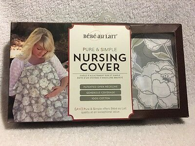 Bebe Au Lait Pure & Simple Descanso Nursing Cover Multifunctional BNIB