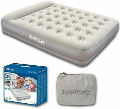 Bestway Restaira Premium Double Airbed with built-in pump