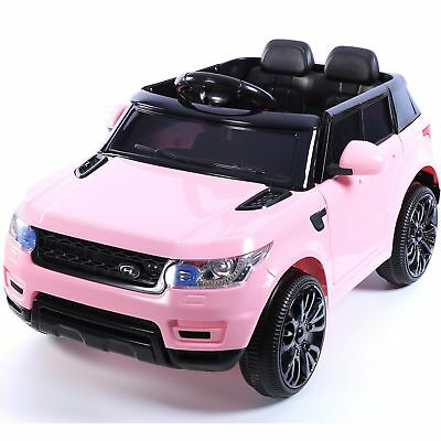 Mini HSE Range Rover Style Electric 12v Child's Ride on Jeep - Pink