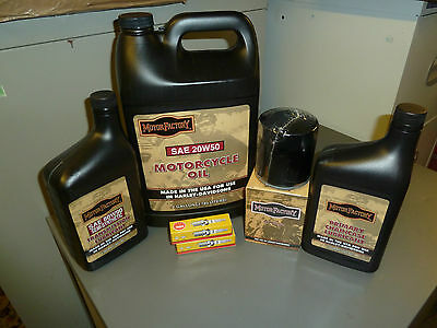 Twin Cam Service Kit For All Harley Davidson All Touring  99-Up Oil Filter BLACK