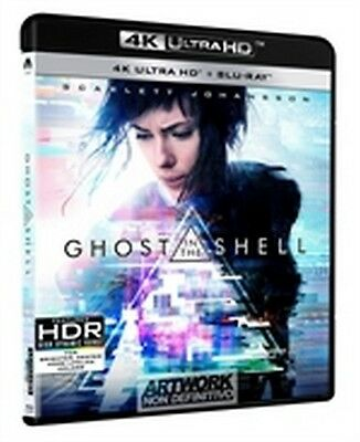 Ghost in the Shell (2017) (4K Ultra HD + Blu-Ray Disc) -