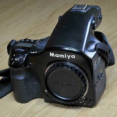 MAMIYA 645 AFD Medium Format Camera Body Phase One Excellent Condition