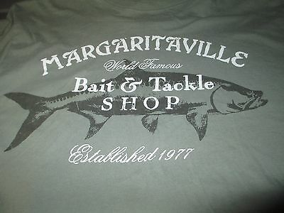 JIMMY BUFFETT Margaritaville Bait & Tackle Shop T Shirt Large