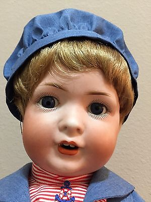 "19"" Bahr & Proschild TODDLER Mold 585 Antique German Doll"