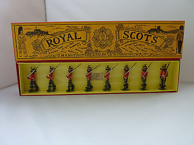 Alba Miniatures - Royal Scots - Metal Toy Soldier Set Of Eight