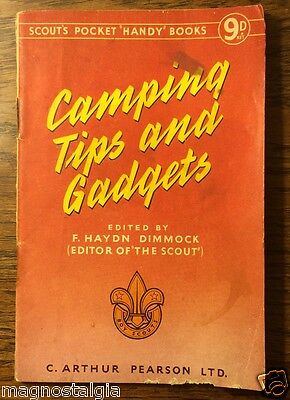 CAMPING TIPS AND GADGETS - 'HANDY BOOKS' circa 1950