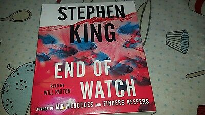 End of Watch by Stephen King (CD-Audio, 2016)