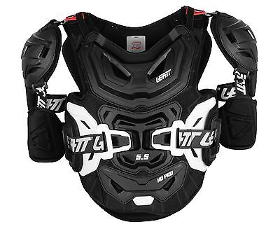 Leatt 5.5 Pro HD Chest Protector Black - White ADULT
