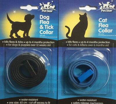 4 Months Protection Fleas & Ticks Killer Treatment For Dog,kittens Puppy Collar