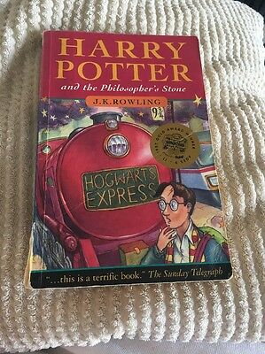 Harry Potter and the Philosophers Stone Paperback First Edition 25th Print