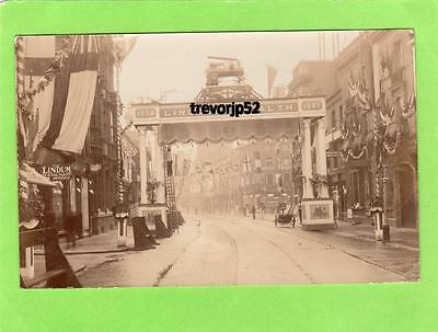 Lincoln High Street Arch Lincoln's Wealth 1907 Royal Agricultural Show pc Smith