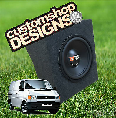 "VW T4 Transporter Camper / Day Van Dashboard 10"" / 12"" Subwoofer / Speaker Box"