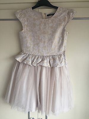 Girls party dress, size 8 years