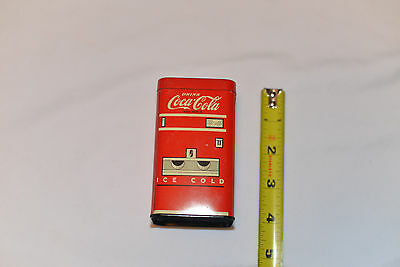 Vintage Drink Coca-Cola Machine Tin Coin Bank