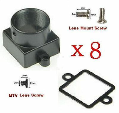 Sunvision 3.7mm CCTV Board Mount Pinhole Lens with Lens Holder Kit+IRCut Filter