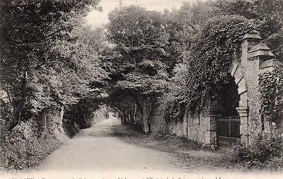 Sark entrance to Seigneurerie  unused old pc Loiis Levy LL No 42