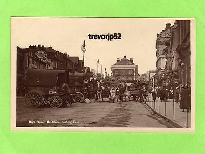 High Street Maidstone Waggons unused RP pc Y & C   Ref A848