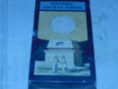 collectible  Esoteric Ancient TAROT DECK   very good condition
