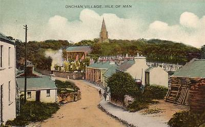 Onchan Village Isle of M British Empire Exhibition Official unused pc