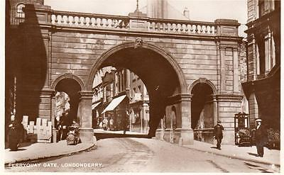 Ferryquay Gate Londonderry unused RP old pc