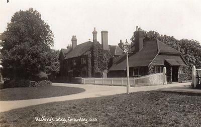Rectory Lodge Crawley RP old pc used 1911