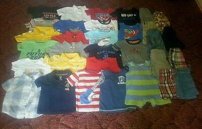 Great deal! 32pc boys 12mos summer lot.. Carter's, Old Navy, Jumping Beans