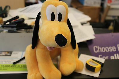 "17"" DISNEY Plush Pluto Stuffed Animal Toy"