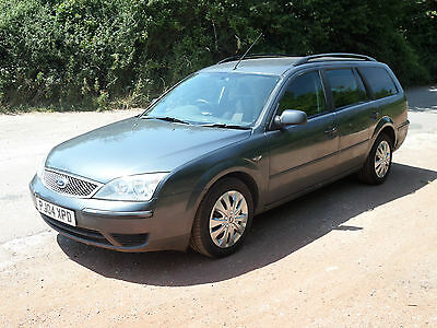 2004 Ford Mondeo Estate 2.0 LX TDCi. NO RESERVE. MOT expired. 177K. Drives well.